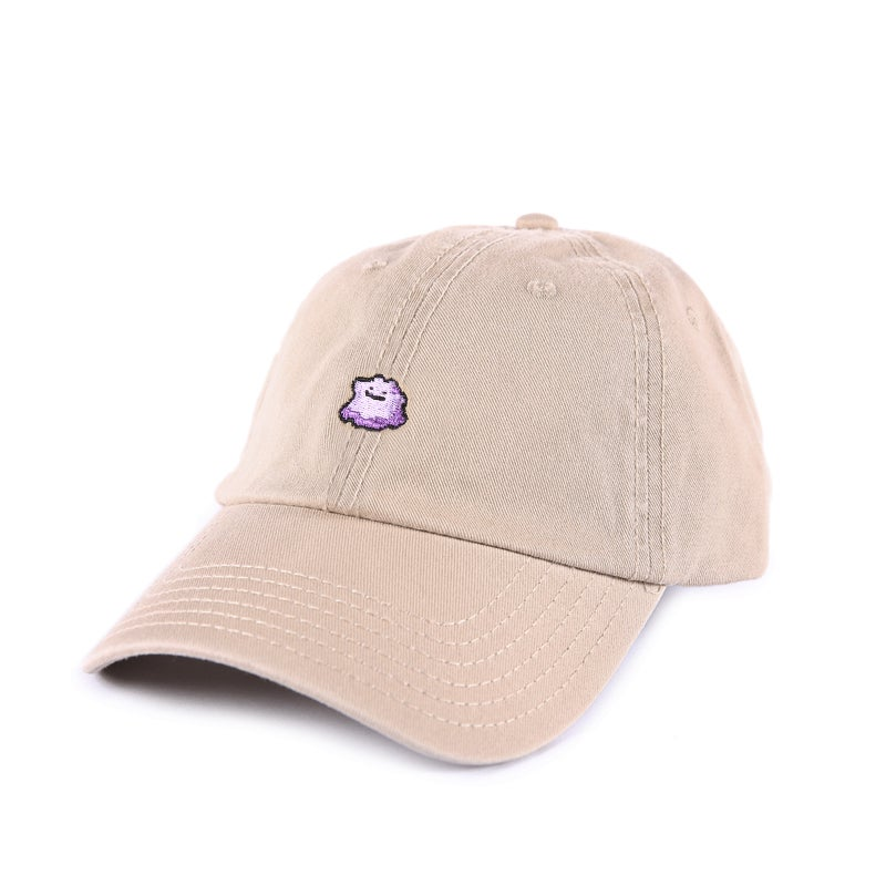 Image of  Purple Slime Low Profile Sports Cap - Tan