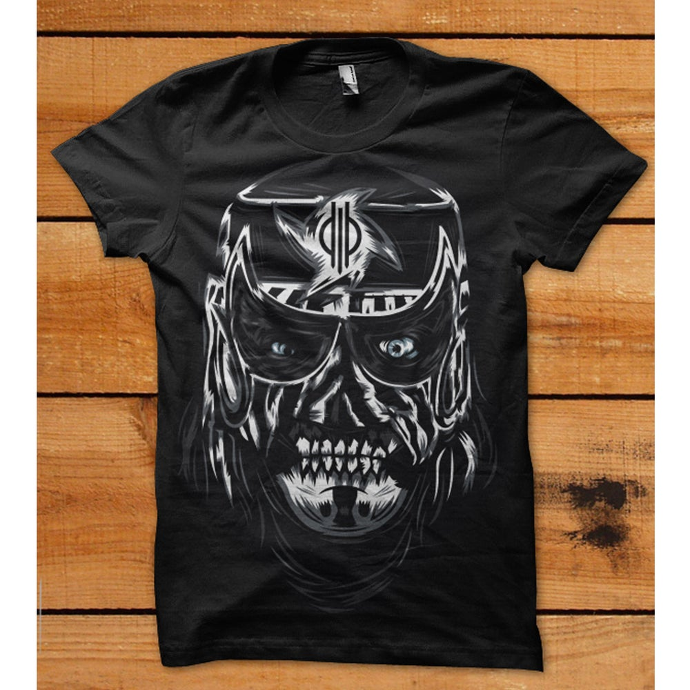 """Image of Cero Miedo """"Portrait"""" T-shirt by Rockets Are Red"""