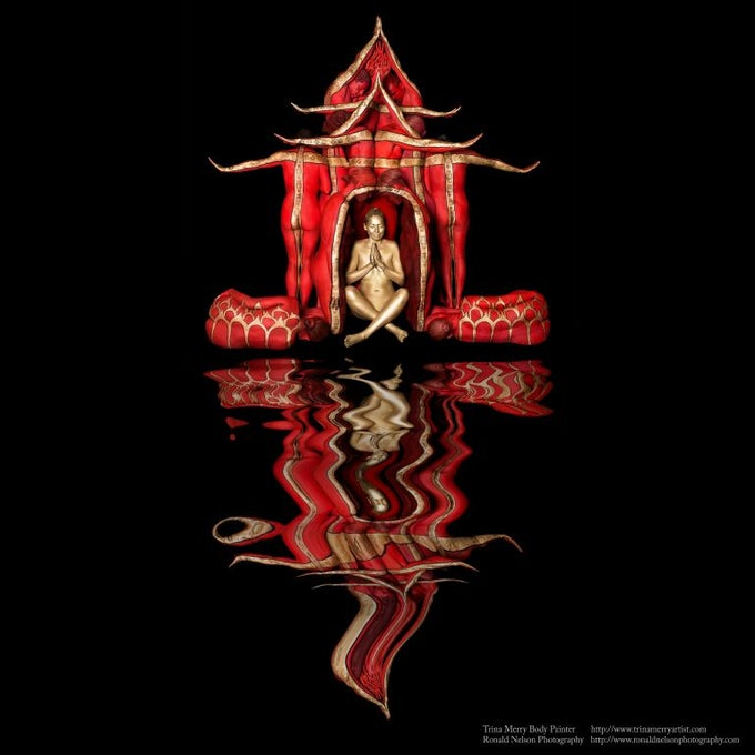 Image of Top Seller! Red Temple