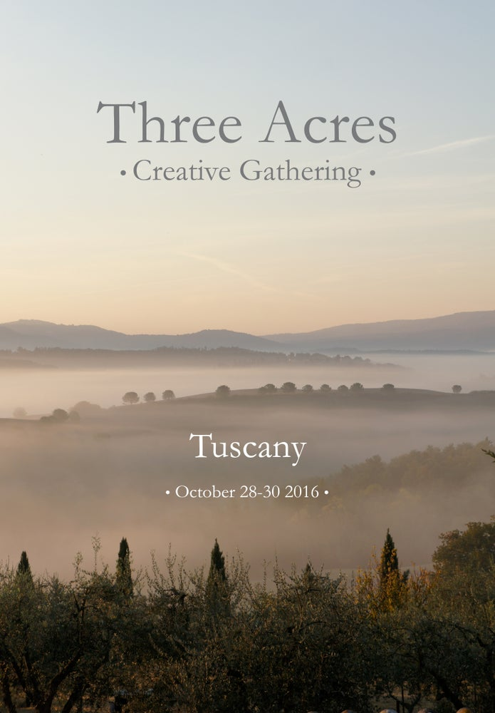 Image of Creative Gathering in Tuscany