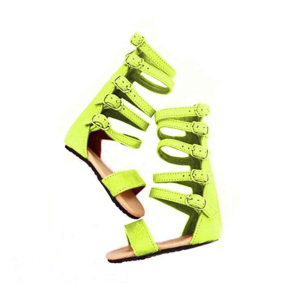 Image of Nahla sandal -  YELLOW