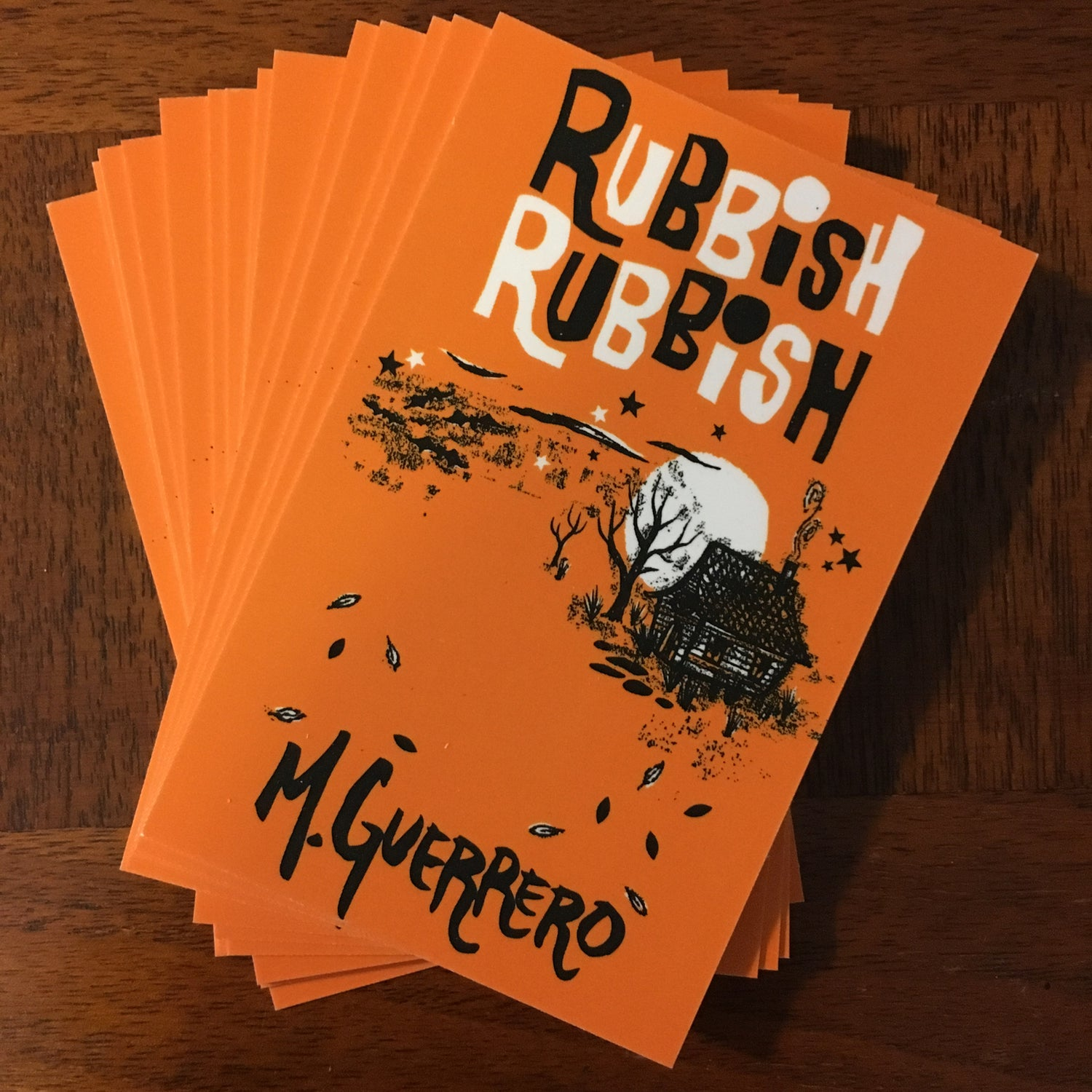 Image of Rubbish Rubbish 45 Mike Guerrero Halloween Edition