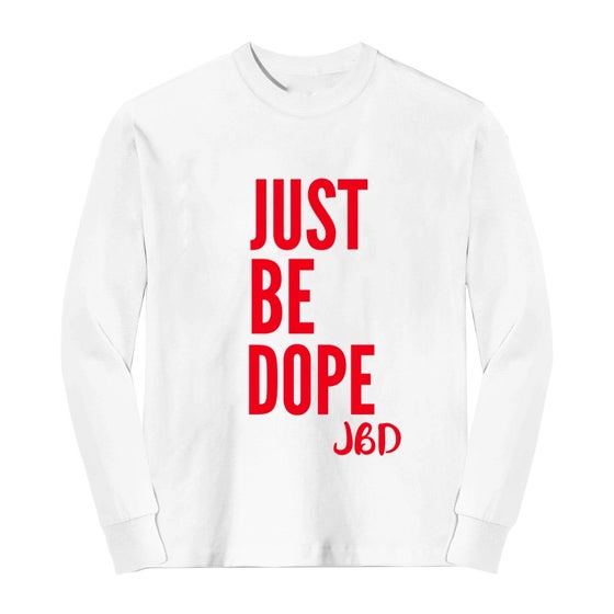 Image of White JBD 3 Year Anniversary Long Sleeve