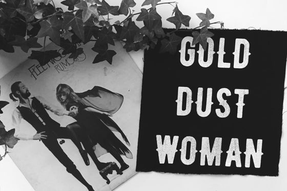 Image of GOLD. DUST. WOMAN. patch