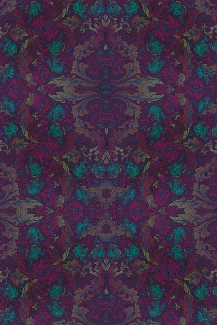 Image of Crown Floral (Purple)