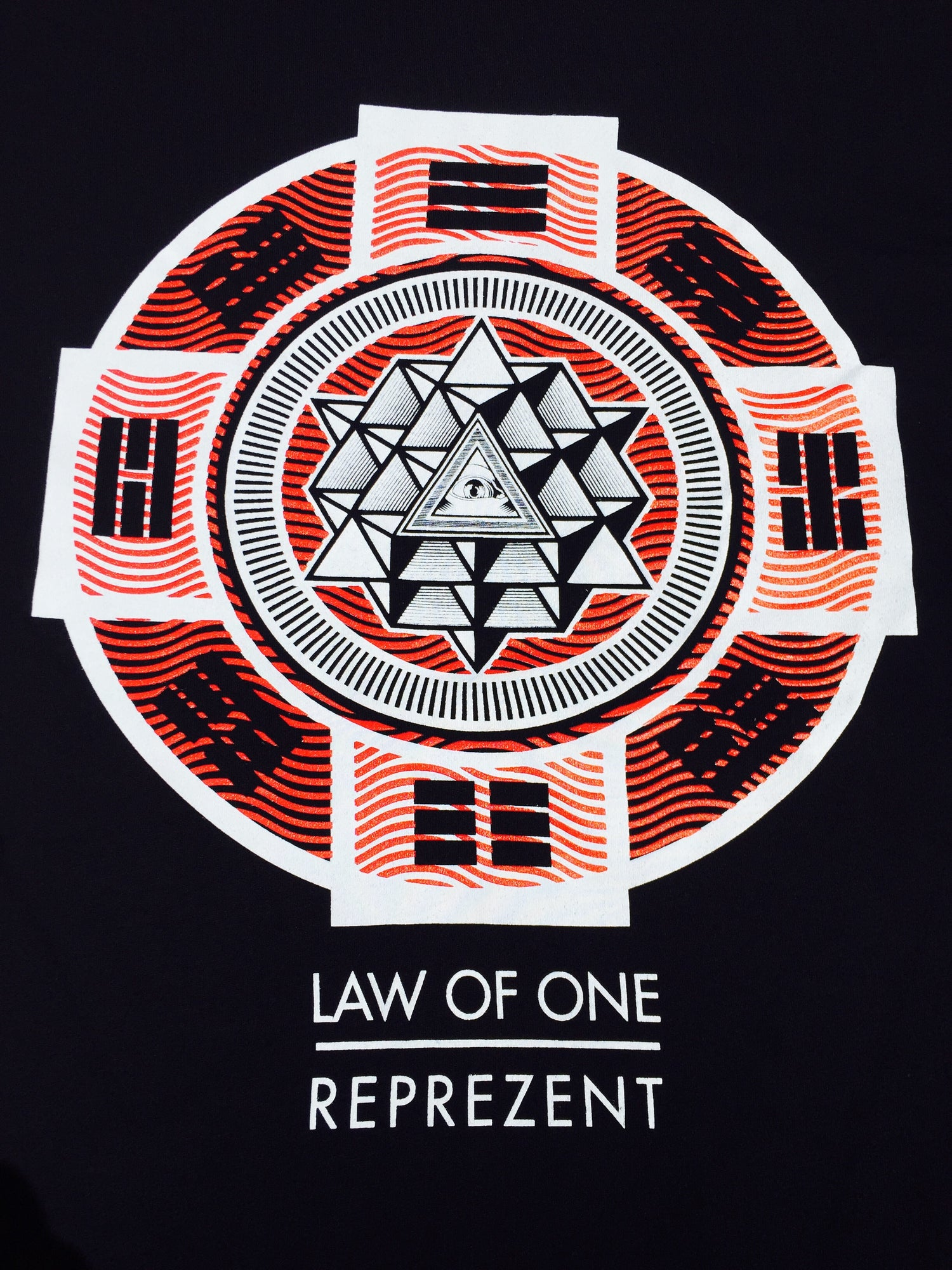 Image of Fabric of Life... (I-Ching/64 Tetrahedron)