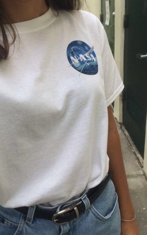leaficle — nasa starry night shirt
