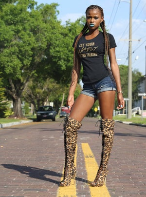 Image of Jungle Fever Peek A Boots