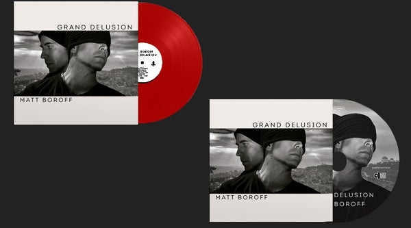 Image of Matt Boroff Pack (Red vinyl + CD Digipak)