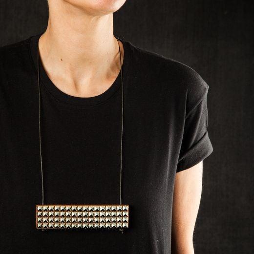 Image of Studded 'TOFALI' Necklace