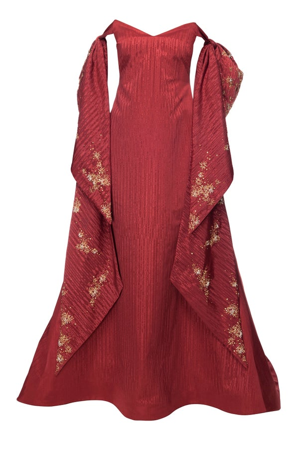 Borealis Gown Red - Melissa Bui