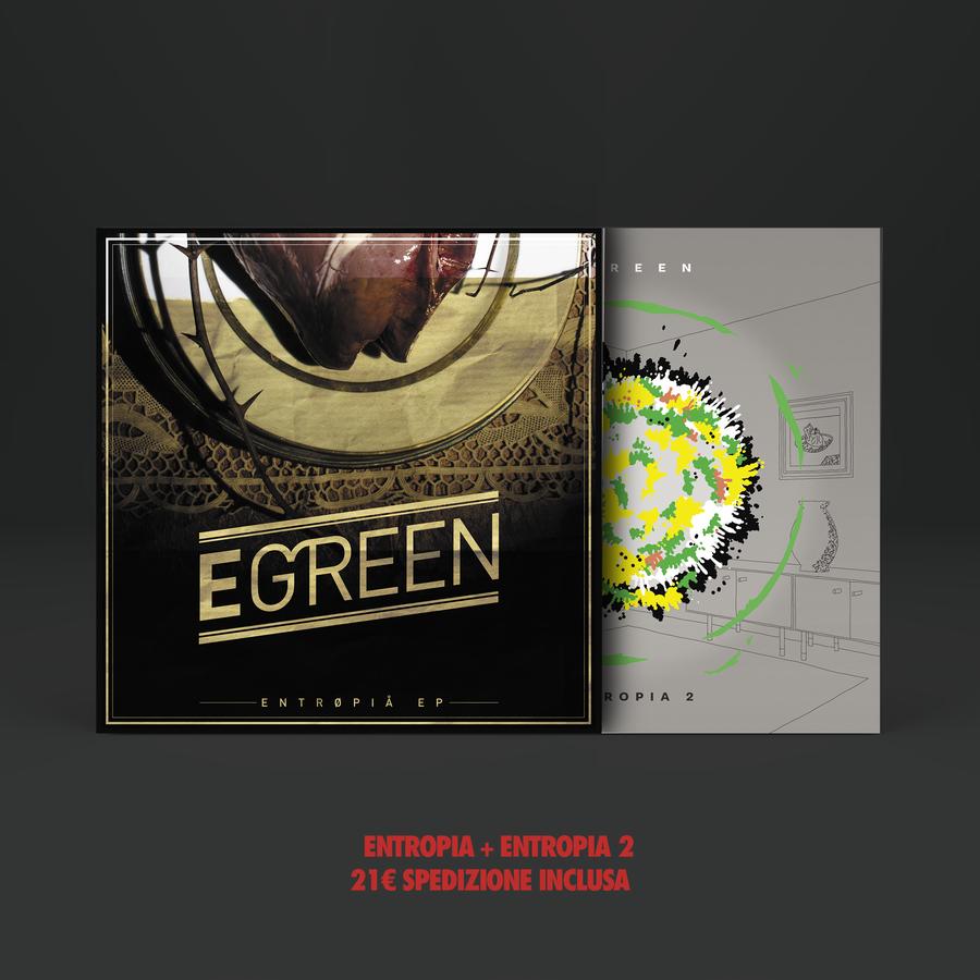 Image of BOX 2 CDs : ENTROPIA + ENTROPIA 2