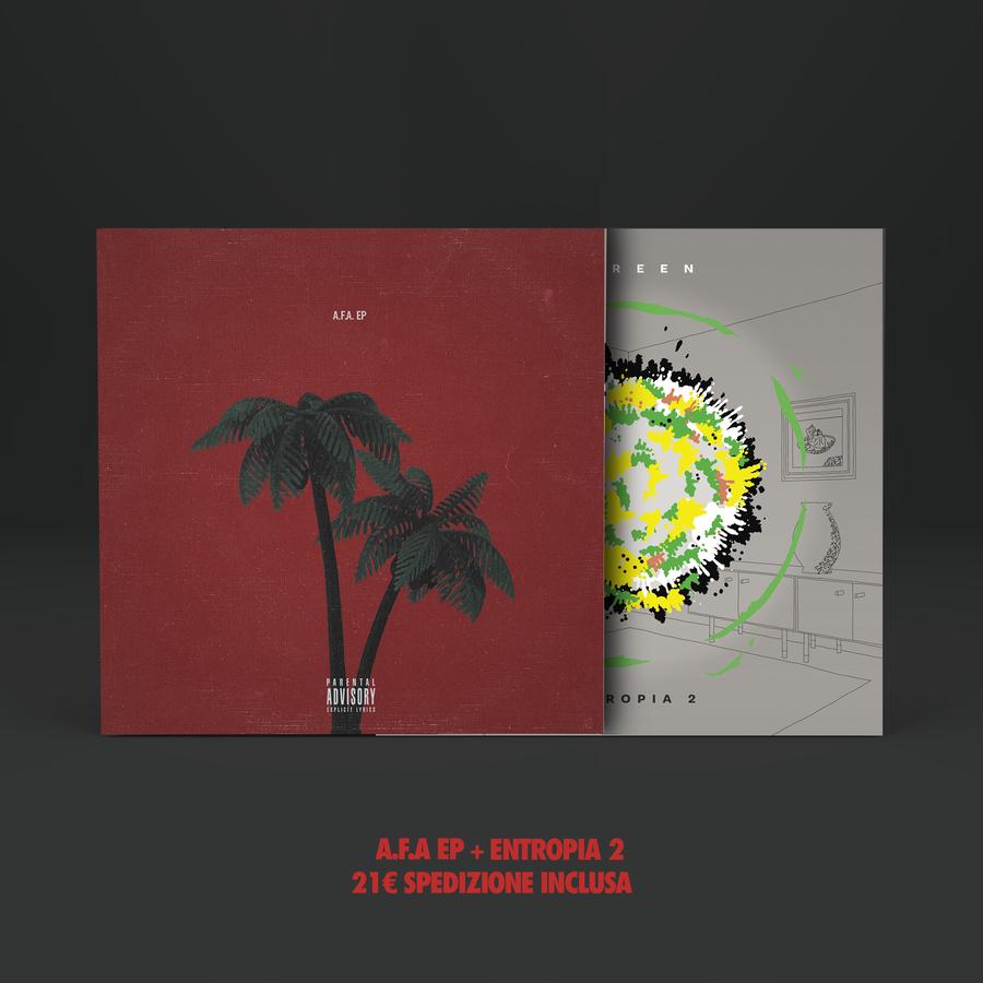 Image of BOX 2 CDs : ENTROPIA 2 + A.F.A. EP
