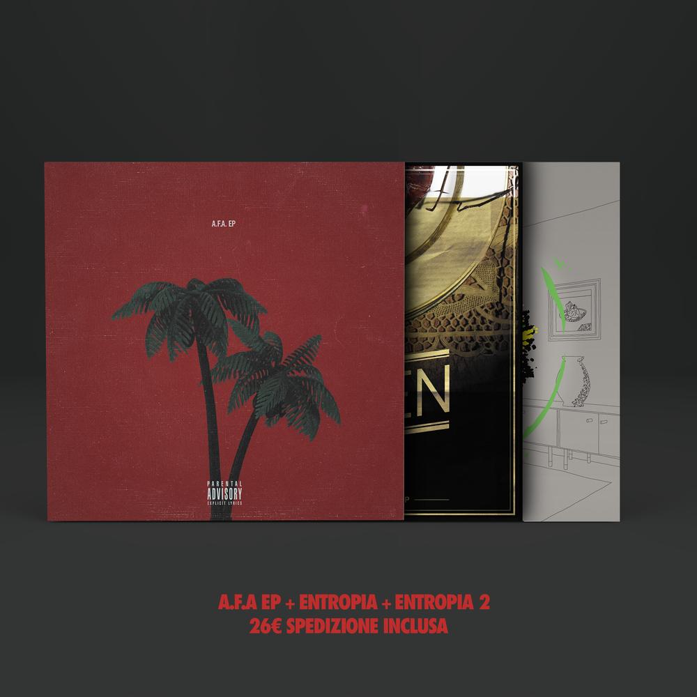 Image of BOX 3 CDs : ENTROPIA + ENTROPIA 2 + A.F.A. EP