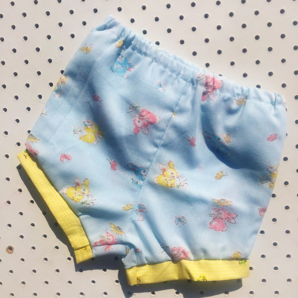 Image of Baggy bloomers - 6-12mths - bunnies