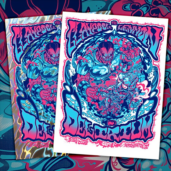 Image of The Claypool Lennon Delirium September 2016 Print