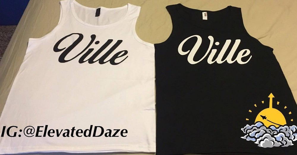 Image of Black & White mens Tanks
