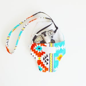 Image of Aztec Cotton Camera Coat
