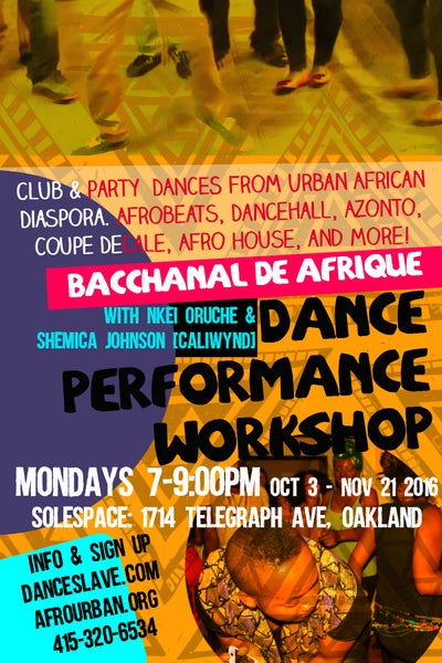 Image of Fall Performance Workshop