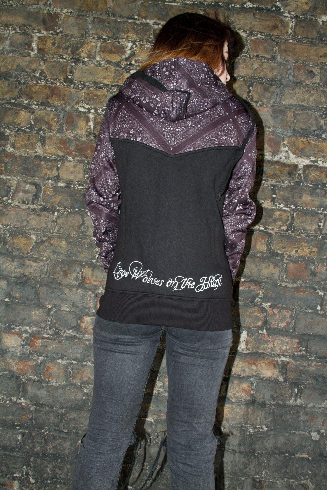 Image of Hell or Win Paisley Ladies Hood