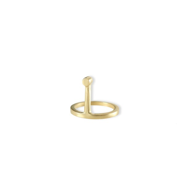 Image of Long Submarine Ring Gold Edition