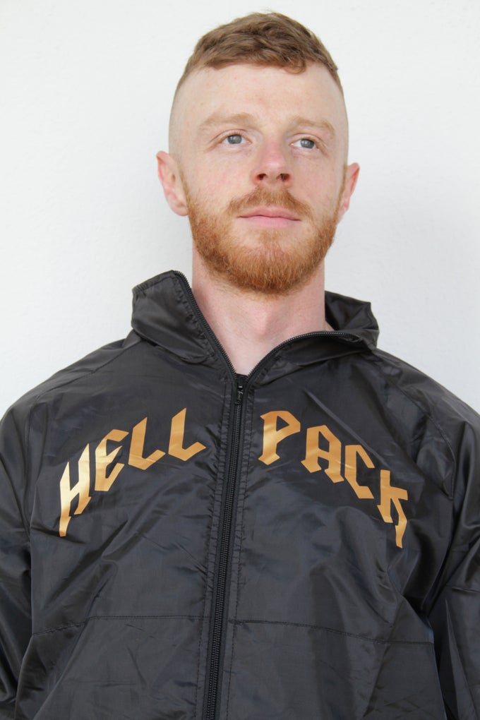 Image of HELLPACK Gold Flake Windbreaker