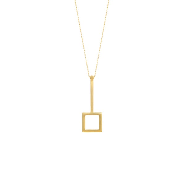 Image of Score Gold Necklace