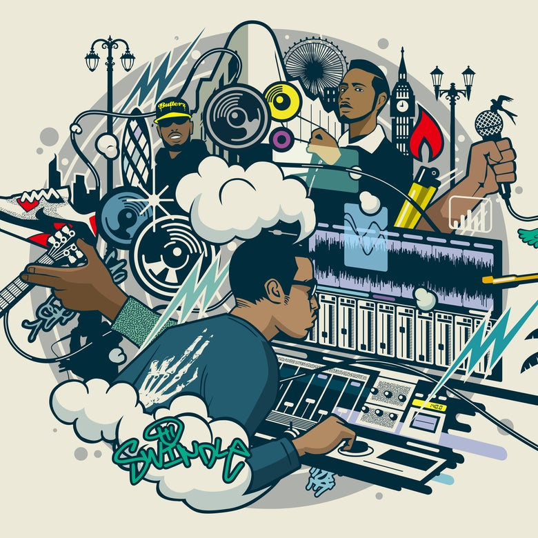 Image of Swindle - Funk & Grime [Vinyl]