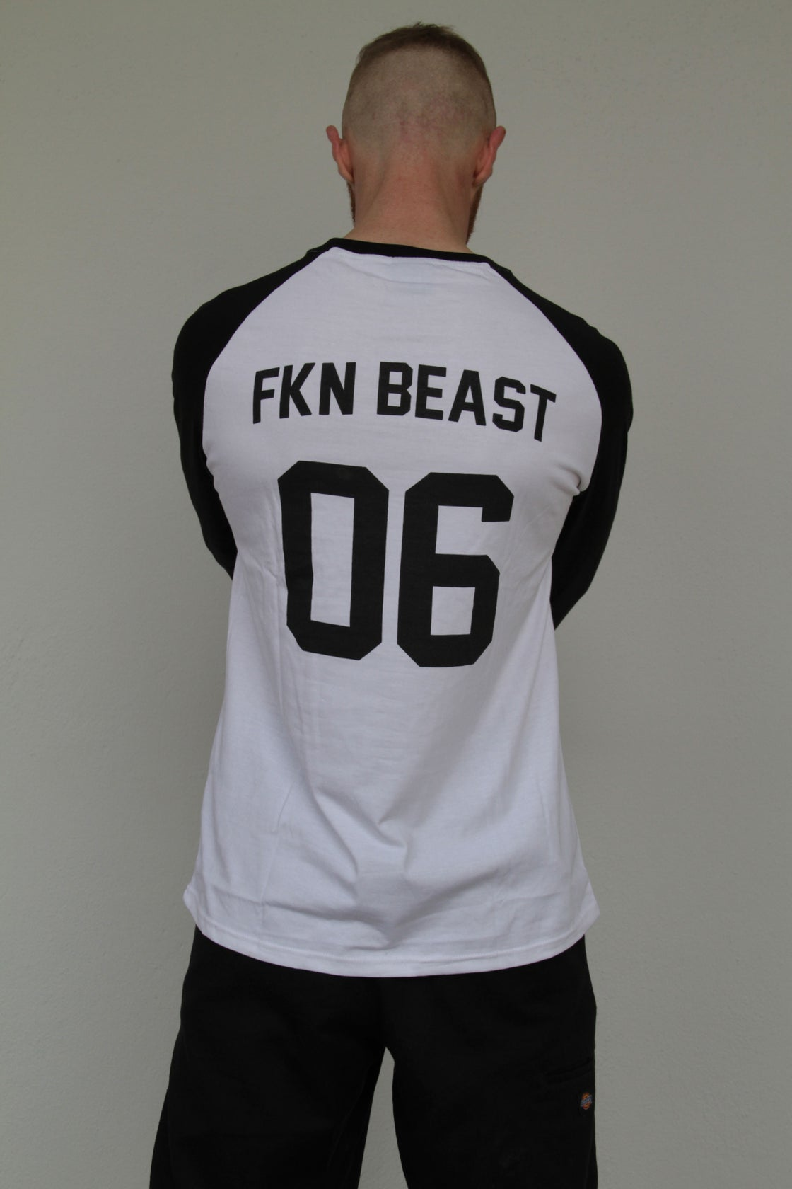 Image of LoneWolf HellPack Contrasting Long Sleeve Raglan Tee