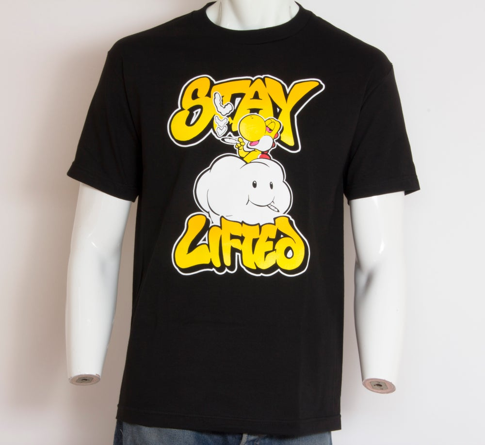 Image of Stay Lifted Tee Yellow