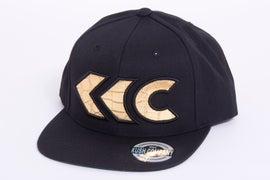 Image of Gold Croc Applique Snap Back