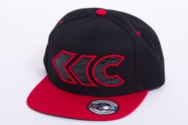 Image of Black/Red Applique Snap Back 3