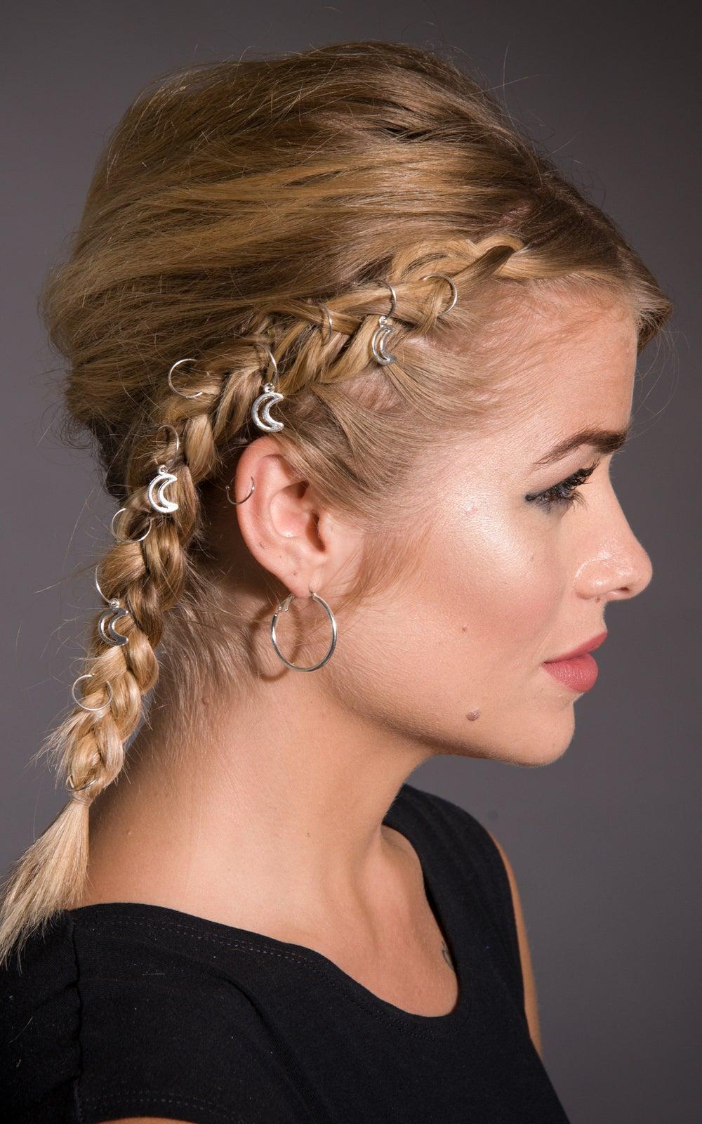 Image of Luna Hair Rings