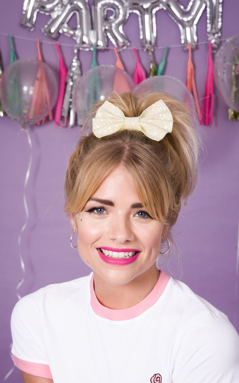 Image of Betty Glitter Bows 30 Colours Available