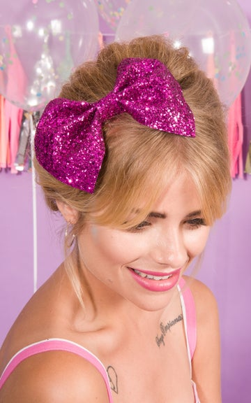 Image of Bianca XL Bow Available in 30 colours Pastel Colours