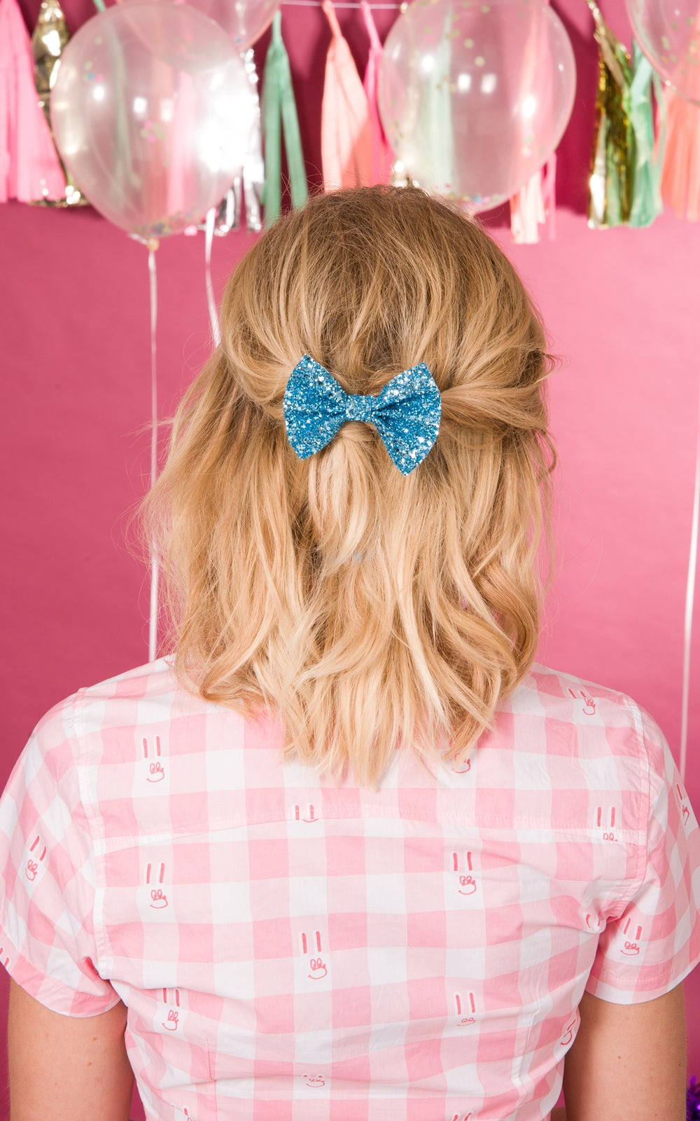 Image of Baby Glitter Bows available in 30 colours