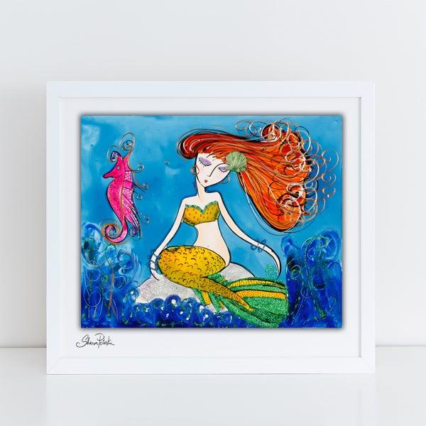 Image of Mermaid Dreaming PRINT
