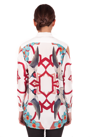 Image of Yoke Shirt| Swallow