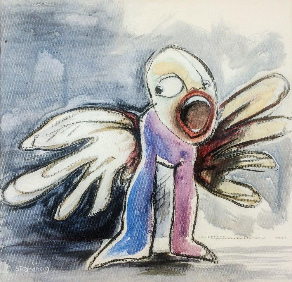 Image of Screaming angel