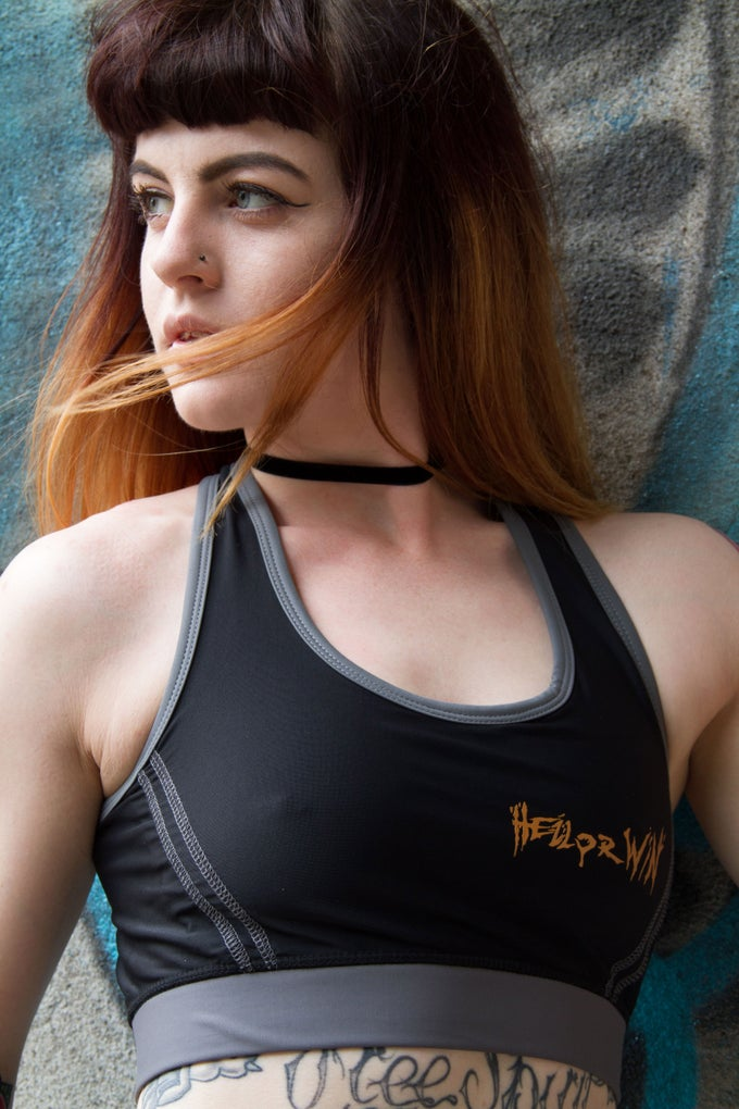 Image of Hell or Win Ladies Sports Top