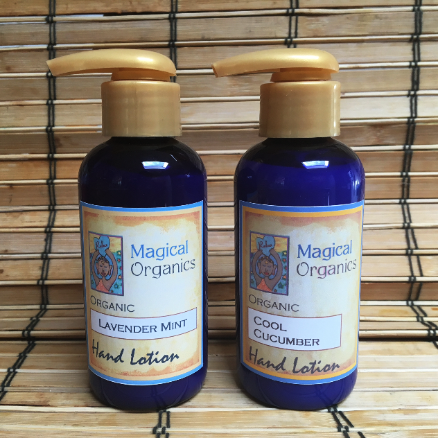Image of Organic Hand Lotion - Cool Cucumber or Lavender Mint