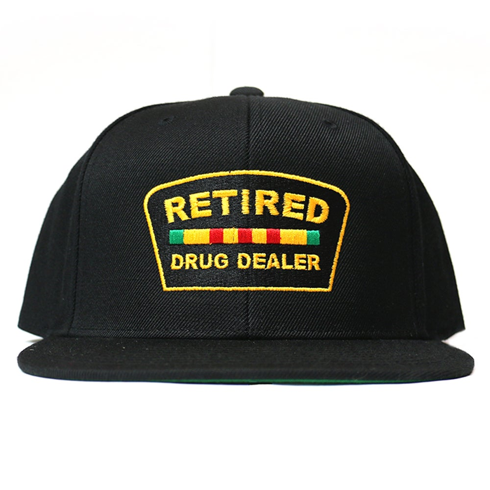 "Image of ""Retired Drug Dealer"" Snapback"