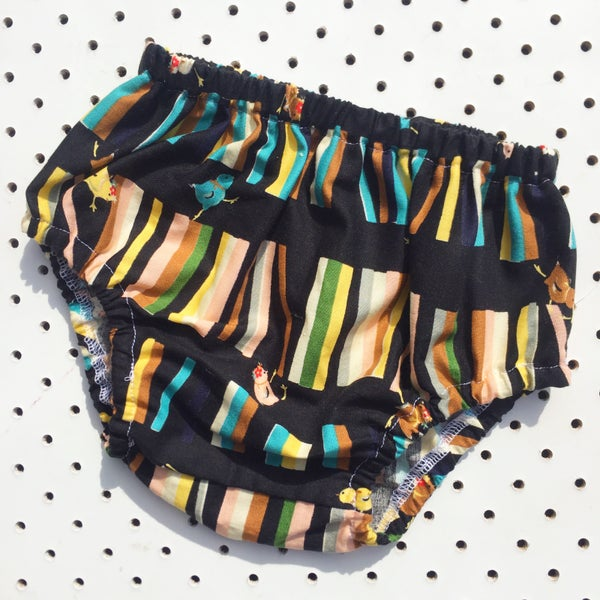 Image of Nappy cover - size 6-12mths - little chicks
