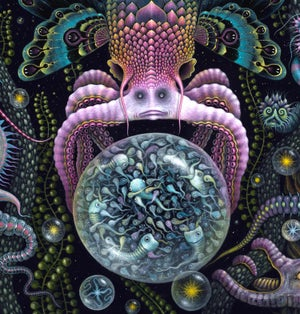 """Image of MICROVERSE III ~ 20 x 24""""  Signed Open Edition"""