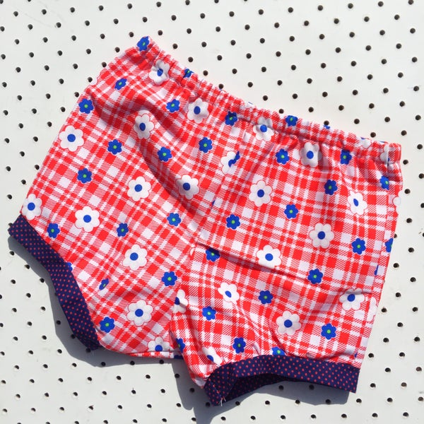 Image of Baggy bloomers - size 1-2yrs - Daisy check