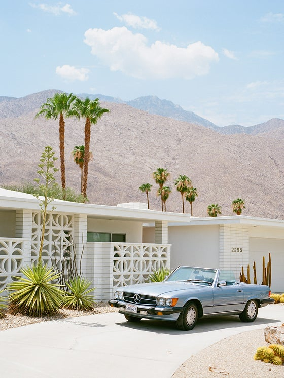 Image of palm springs chic