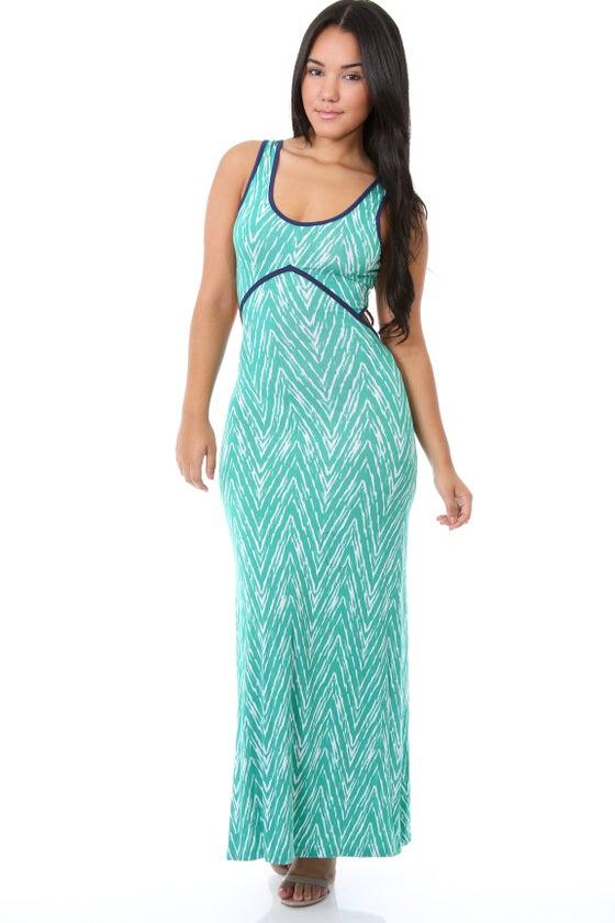 Image of  Maxi Dress/Green