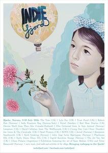 Image of Sean Mahan Indiefjord 2016 poster (A3)