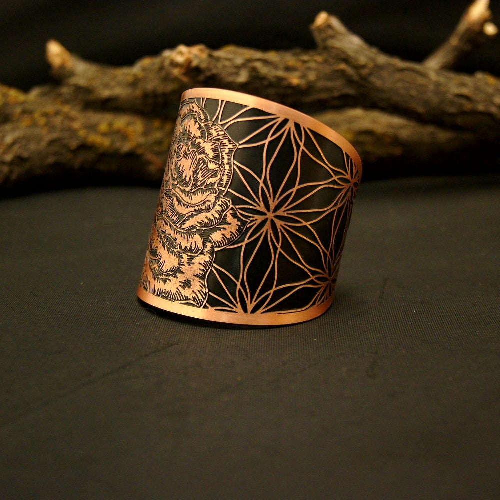 Image of Rose Flower Of Life