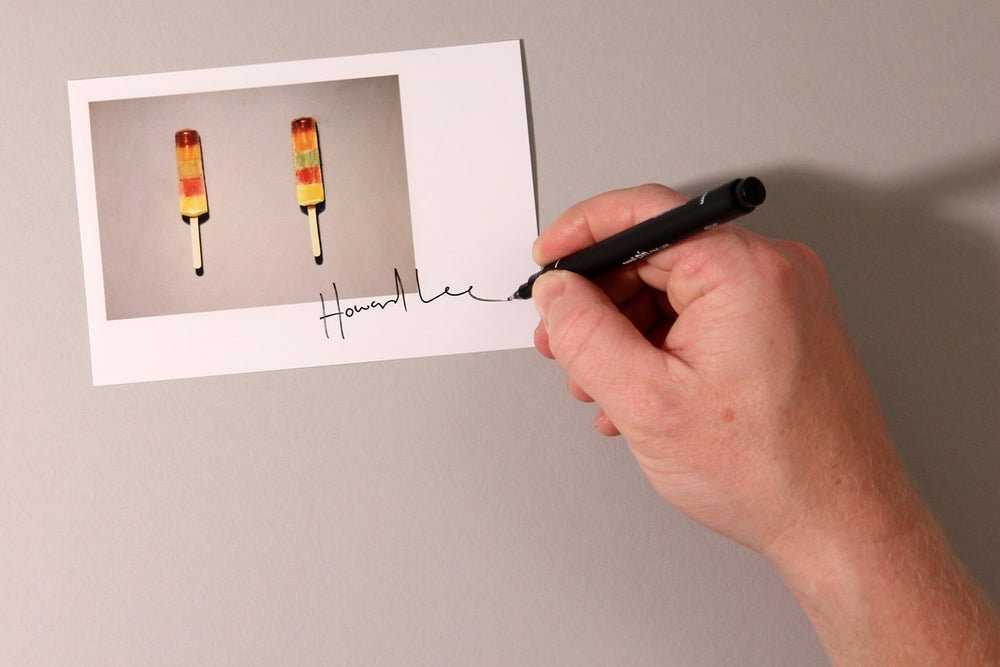 Image of Ice Pop Autograph Mini Print